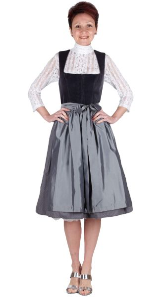 Alissa by Kinga Mathe Dirndl Alice 16607 65er anthrazit