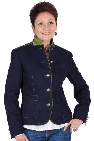 Kaiseralm Damen Trachtenjacke Adelina 5357G blau 53