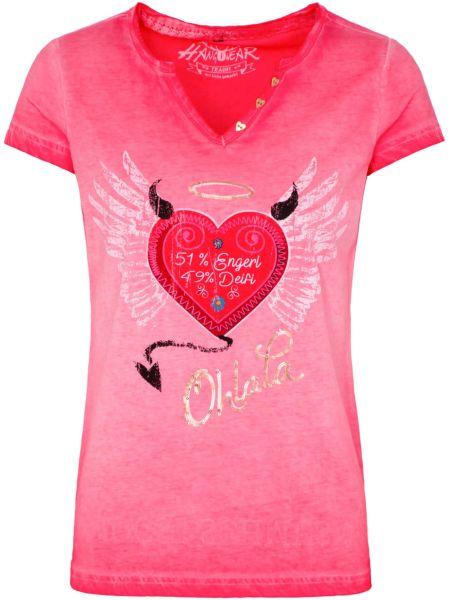 Hangowear Damen T-Shirt Rike rot