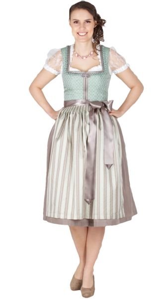 16023 Country Line 70er Dirndl mint grün