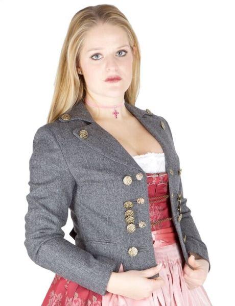 Julia Trentini Damenjacke Servus Tölz Grau