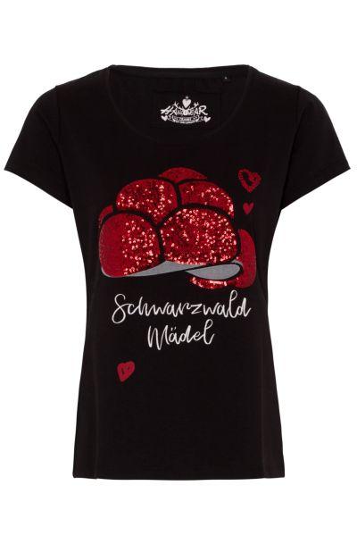 Hangowear Damenshirt Celina 1201 71103 schwarz 0200
