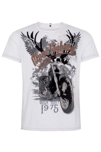 Hangowear Herren T-Shirt Till weiss