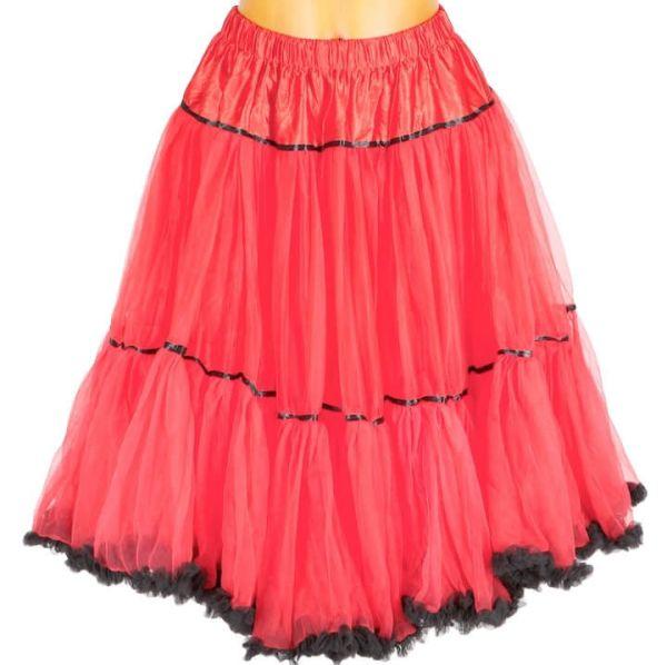 311965 MarJo Fluffy Petticoat 65er rot schwarz