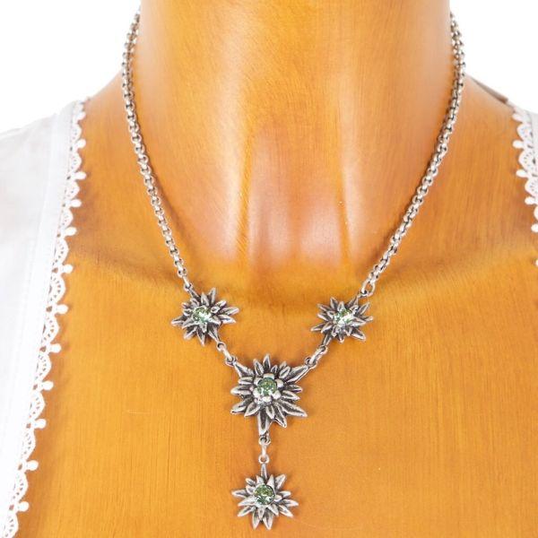 HK 85 2012 Desinger Edelweiss Collier kristall