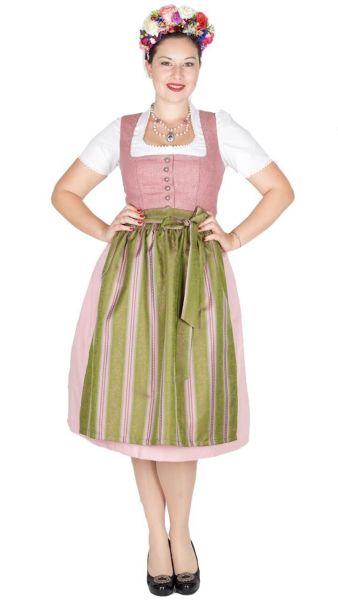 16135 Kaiseralm Dirndl Dora S8224 70er rose 23