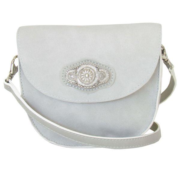 Lady Edelweiss Trachtentasche 30961 Grau Spange