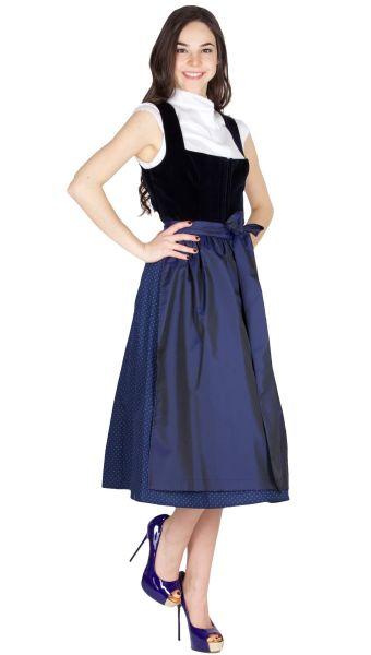 Alissa by Kinga Mathe Dirndl Alice 16902 70er Nachtblau