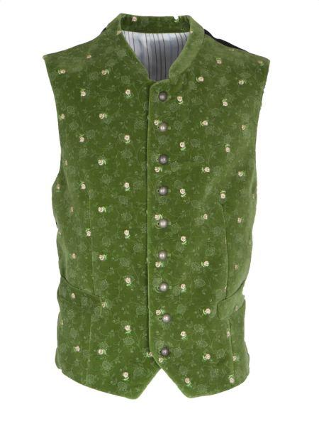 Grasegger Gilet 1422000 flori grün (022)