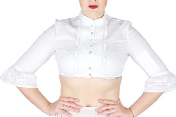 Sportalm Dirndlbluse Genoveva optical white