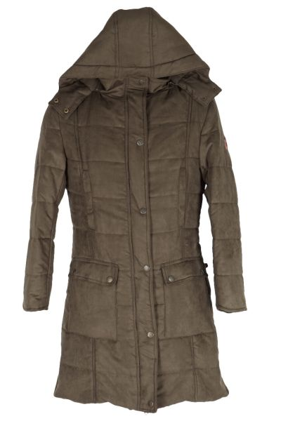 Hubertus Damen Outdoormantel 10878454 dkgrün 313