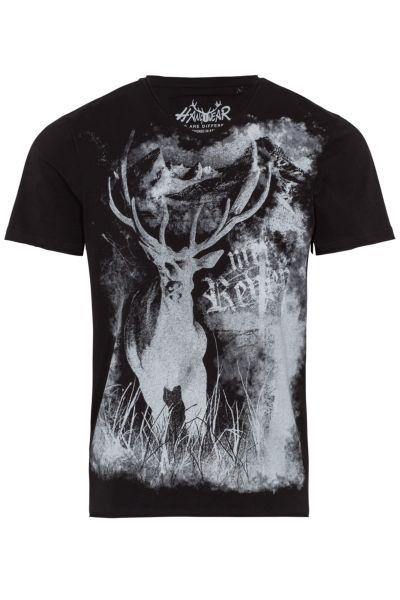 Hangowear Herren T-Shirt Elton 1201 71072 Schwarz 0200