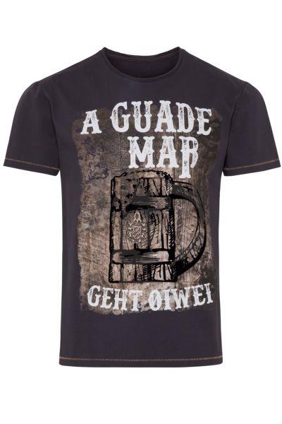 Hangowear Herren T-Shirt Lutz dunkelgrau