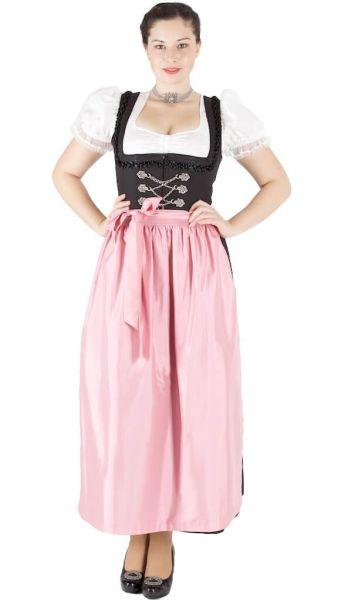 13344 Wenger Hochalm Dirndl Hildegard 95er Gr 38 schwarz rosa