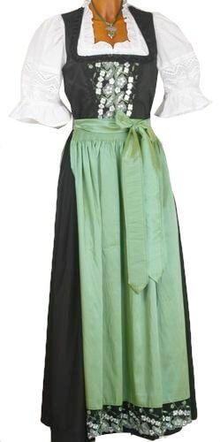 1412 Country Line Festtagsdirndl 95er schwarz grün
