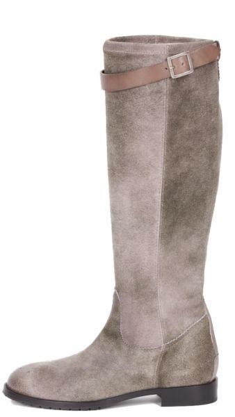 588006 dirndl+bua Stiefel Antikbock Stretch grau