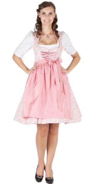 13021 Wenger Dirndl Olivia 60er rosa