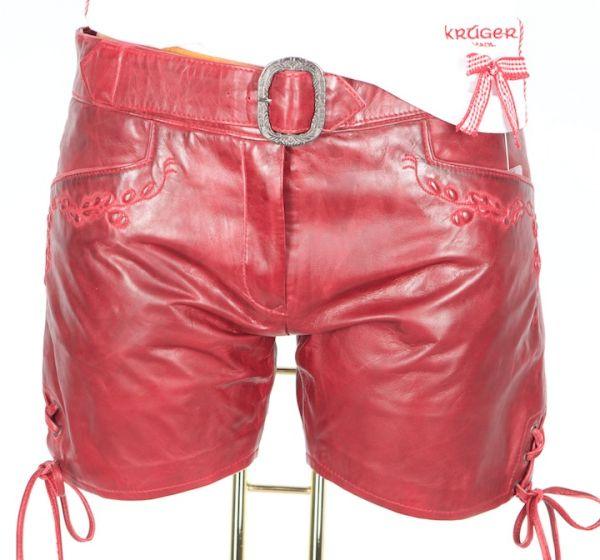Lekra Damen Hot Pants Zilly rot Antik