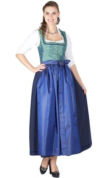 15417 Hofer Dirndl Hainthal 95er länge jade marine