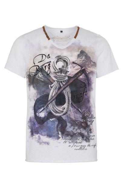 Hangowear Herren T-Shirt Emilio 1202 71272 Weiss 0100