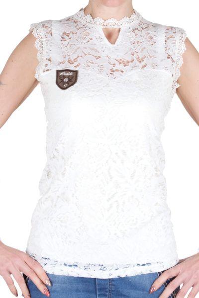 Hangowear Spitzen Shirt Ruya 708431 cremeweiss