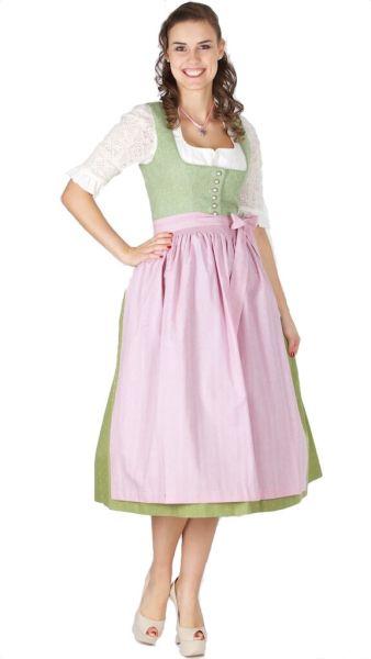 15375 Wenger Dirndl Isolde 80er länge grün