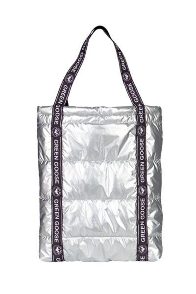 Green Goose Shopper Tasche 20888657 Silber