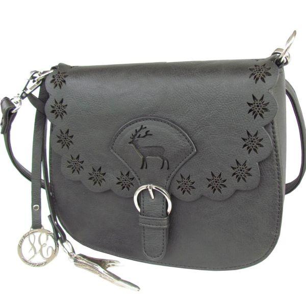 13201 Lady Edelweiss Trachtentasche schwarz