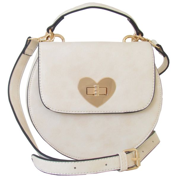 Lady Edelweiss Trachtentasche 18200 Herzform creme