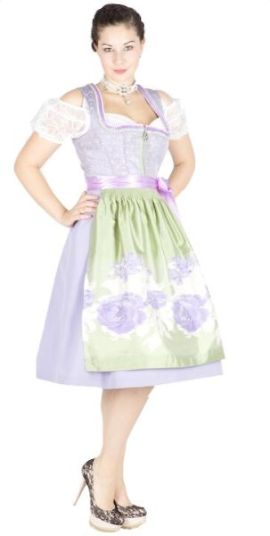 10310 Country Line 65er Dirndl flieder mint