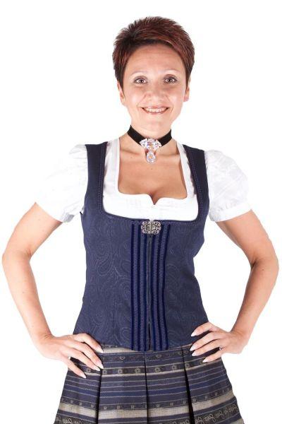 Wenger Trachtenmieder Gina blau Stretch