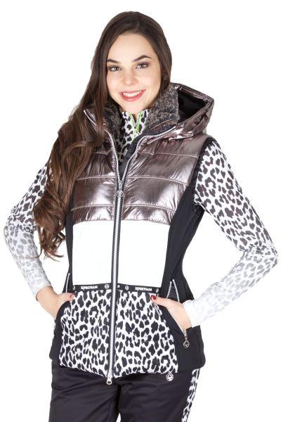 Sportalm Ski Weste Kalik 902606102 Chateau Grey 06