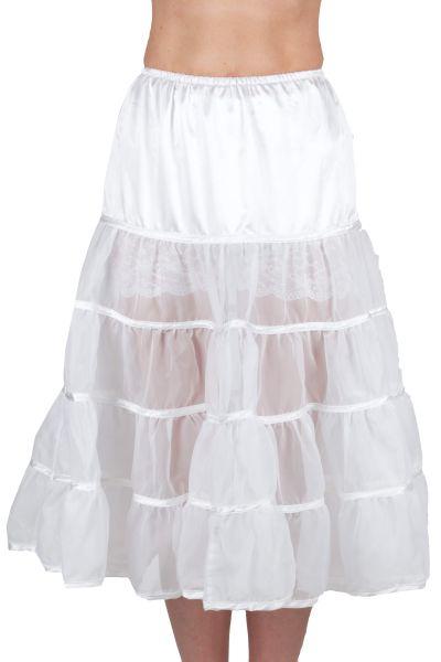 Hammerschmid Petticoat 1912806 weiss 70er länge