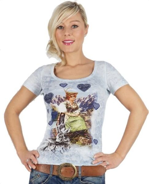 Sportalm T-Shirt Gitta hellblau
