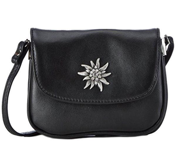 Lady Edelweiss Trachtentasche 30962 Schwarz Edelweiss