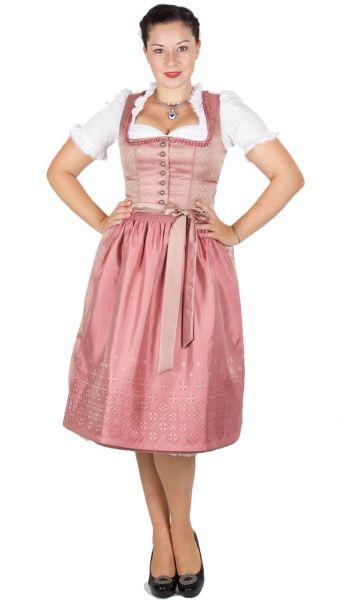 Kaiseralm Dirndl Dora 16196 H8015 70er rosa Fb 23